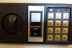 Elektronisk kodelås nøkkelskap