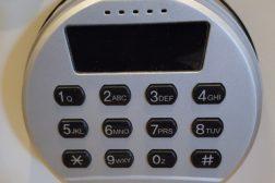 Elektronisk kodelås deponeringssafe BS1DD-820BTBT