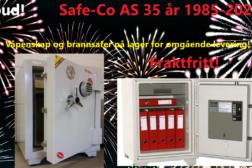 Jubileumstilbud! Safe-Co 35 år
